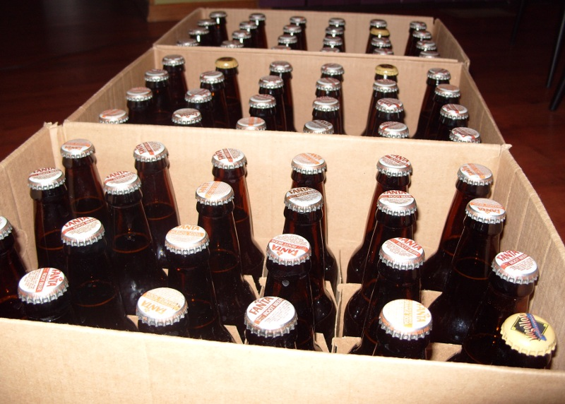 72 bottles of American Ale